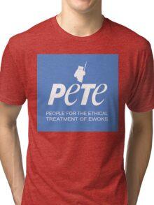 Star Wars PETA Parody (with text) Tri-blend T-Shirt