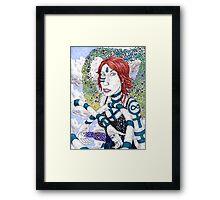 Her Craft Framed Print