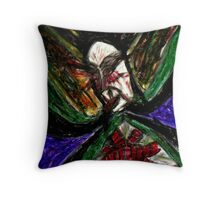 """The Queen of Nine Phases"" Throw Pillow"