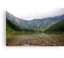 Avalanche Lake Reflections Canvas Print