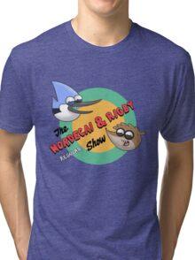 The Mordecai & Rigby Show Tri-blend T-Shirt