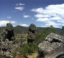 Rockscape, Hanging Rock by Chris Livingstone