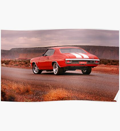 Beasty 454ci SS Chevelle Poster