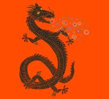 Dragon, Flower Breathing Kids Tee