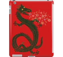 Flower-breathing Dragon iPad Case/Skin