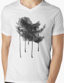bLACK rAIN T-ShirT Mens V-Neck T-Shirt