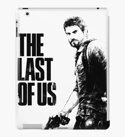 Joel in the last of us iPad Case/Skin
