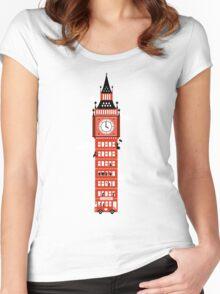 Big Ben Bus Women's Fitted Scoop T-Shirt