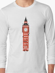 Big Ben Bus Long Sleeve T-Shirt