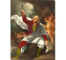 Ben Franklin Shazam Photographic Print