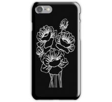 Inked Poppies iPhone Case/Skin