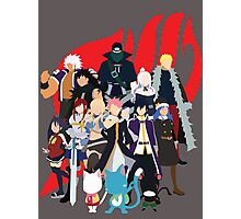 We Are Fairy Tail! Photographic Print