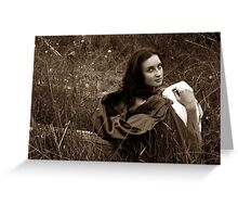 would you come find me? Greeting Card