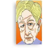Sandy Gall Cartoon Caricature Canvas Print