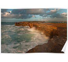 Pondalowie Bay Yorke Peninsula South Oz Poster