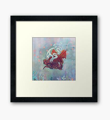 Ocean Jewel Framed Print