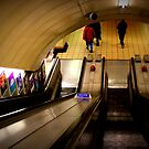 Gants Hill - The Escalators  by rsangsterkelly