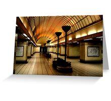 Gants Hill Tube Station  Greeting Card