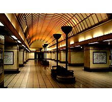 Gants Hill Tube Station  Photographic Print