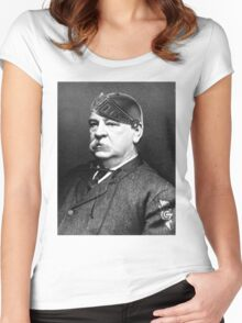 Super Grover Cleveland Women's Fitted Scoop T-Shirt