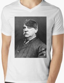 Super Grover Cleveland Mens V-Neck T-Shirt