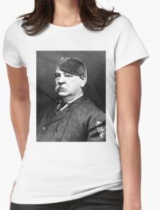 Super Grover Cleveland Womens Fitted T-Shirt