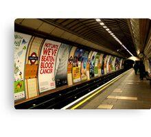 Gants Hill - the underground Canvas Print