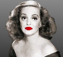 Bette Davis by QuimAbella