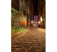Melbourne's Lanes - Hosier Photographic Print