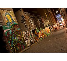 Melbourne Lane - Hosier Photographic Print