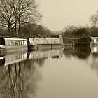 old times oxford canal by gruntpig