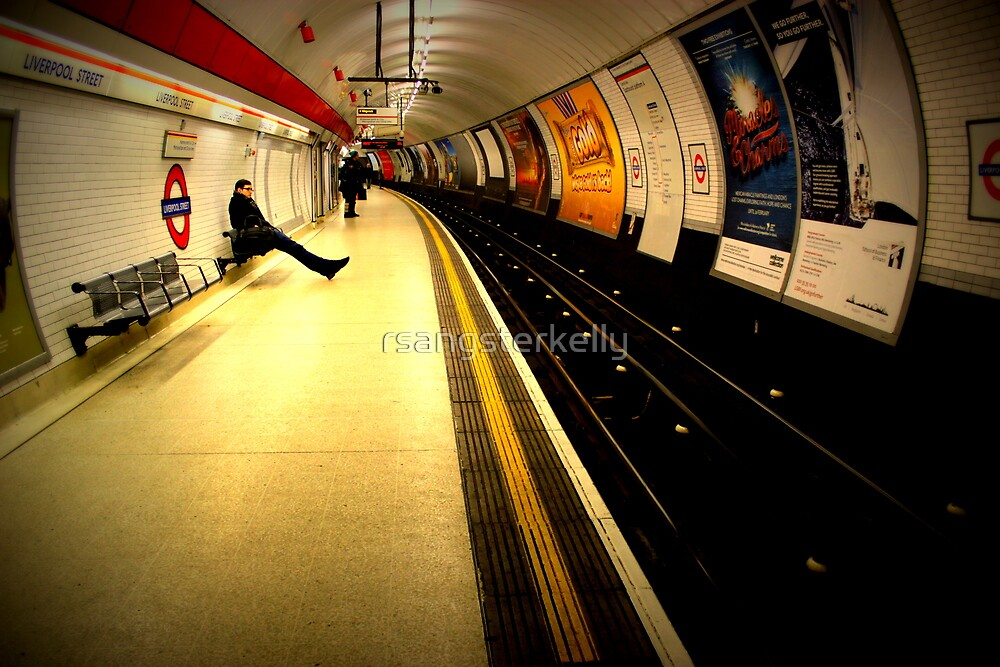 Patience - Liverpool Street by rsangsterkelly
