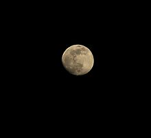 The moon by jean-jean