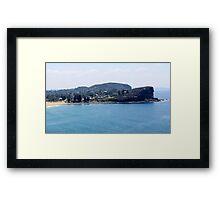 Avalon Beach, North Avalon Headland Framed Print