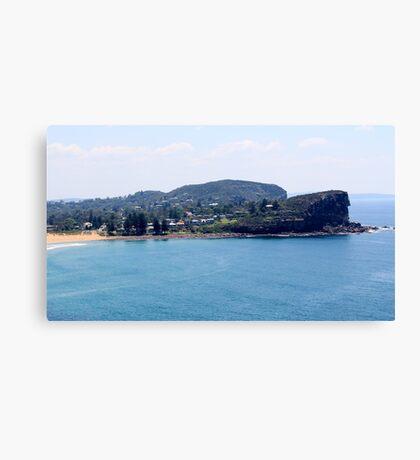 Avalon Beach, North Avalon Headland Canvas Print