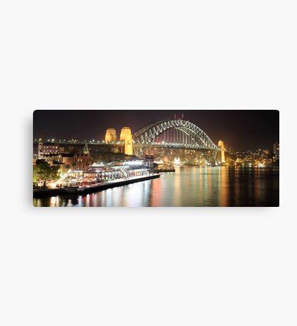 Sydney Harbour Bridge and Passenger Terminal Canvas Print