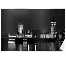 The Houses of Parliament Poster