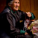 Buddhist Old Women -I by RajeevKashyap