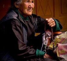 Buddhist Old Women -I by RajeevKashyap