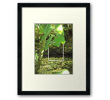 Protruding natures lines #6 Framed Print