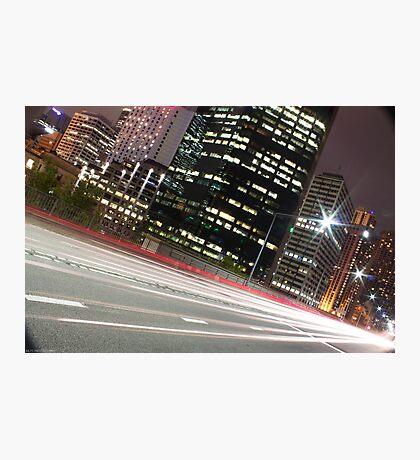 Street Lights of Sydney Photographic Print