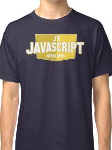 javascript developer Classic T-Shirt