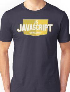 javascript developer Unisex T-Shirt