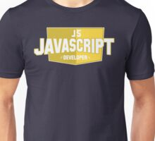 javascript developer Unisex T-Shirt