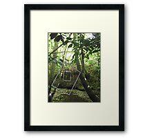 Protruding natures lines #13 Framed Print