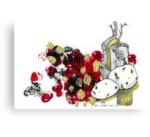 Potato Sprout Canvas Print