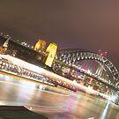 Sydney Harbour Lights by Andrew  MCKENZIE