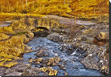 Ashness Bridge - Lake District by Trevor Kersley