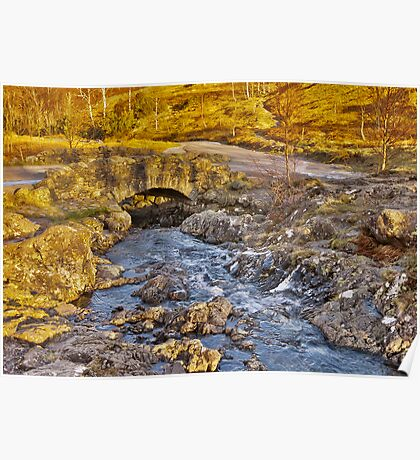Ashness Bridge - Lake District Poster