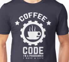 Programmer : Coffee and Code Unisex T-Shirt